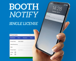 Booth Notify Standard License